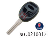 Saab car 3 button remote key shell(without logo)