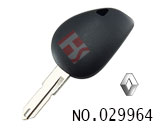 Renault car clone transponder key casing(without logo)