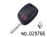 Renault car 1-button  key remote control key shell