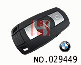 BMW 5 series smart 3 button remote key(433MHZ)