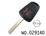 Opel 2-button remote key casing