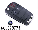 Buick Hideo XT car 2-button remote control key casing