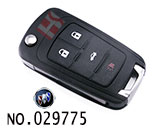 Buick New Regal car 4-button remote control key casing