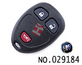 Buick Firstland 3 button remote control casing