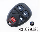 Buick 4 button remote control casing