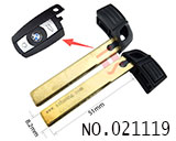 BMW 3,5 Series Emergency smart key Blade