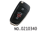 Audi's old A6 8E electronic chip folding remote key (315MHZ)