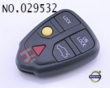 VOLVO S80 5-button smart remote key casing