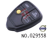 vlovo S80 4-button remote key casing (without logo)