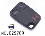 volvo 2-button remote key casing