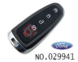 Ford car 5 button smart remote key shell