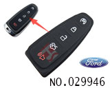 Ford car 5 button smart remote key rubber