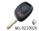 Renault car 1 button remote key