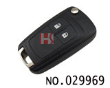 Opel car 2 button flip remote key