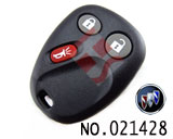 Buick 3 Button Remote Key Casing