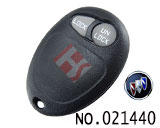 Buick GL8 car 2 button remote casing
