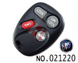 Buick Century 4 buttons Remote Key Casing