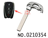 Emergency smart key Blade for Chevrolet car smart key