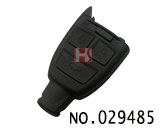 Fiat 3-button smart remote casing