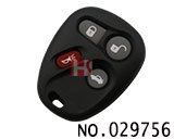 Buick Century Car 4 button remote control shell