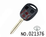 Toyota camry 3-button Remote Key Casing( T type keyblade)