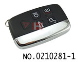 Land Rover Evoque 5 button smart remote key(434MHZ)