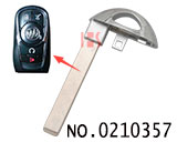Smart Key Blade for Chevrolet Car Smart Key HU100
