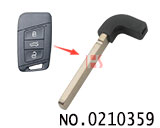 New style VW car smart remote key blade