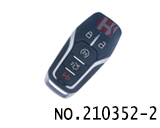 New Ford car 5 button smart key cover