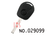 Korea Ssangyong motor two button remote key cover (vertical milling key blade)