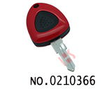Ferrari car one button remote key case (right slot without logo)