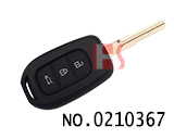 New Renault car 3 button remote key case
