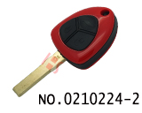 Ferrari car three button vertical milling remote key case (without logo)