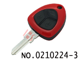 Ferrari car three button remote key case (right slot without logo)
