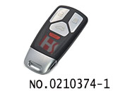 2017 Audi 3+1 button smart car remote key case