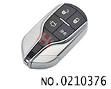 Maserati 4 Button smart car remote key (433Mhz)