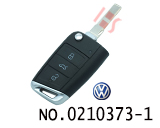 VW Passat, Lavida car 202AD Remote Modified Golf 7 New style Folding Remote key