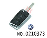 VW Passat, Lavida car 202AD Modified Remote Golf 7 New style Folding Remote key