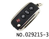 Bentley smart remote key with 433MHz