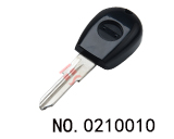 Alfa Romeo car clone transponder key casing(black) GT15