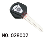 Yamaha Motocycle Transponder Key Shell(Black)
