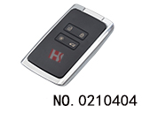 Renault 4 Button Smart Key Shell