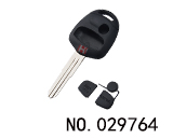 Mitsubishi Lancer EX 3-button remote key shell(right groove.without LOGO)