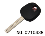 Toyota, Lexus modified chip key shell (internal milling key without logo)