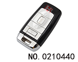 Rolls Royce car 4 button smart remote key shell