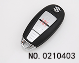 Suzuki Vitara / S-cross 2 Button Smart Key (315MHZ)