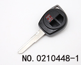 New Suzuki Car 2 Button Remote Shell (with round-shape Logo print)