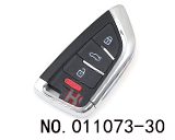 KD Smart Series - BMW Knife-type 4 Button Remote(ZB02-4)
