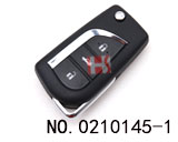 14 Model Original Toyota Car 3 Button Flip Remote Shell