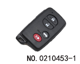 Car 4 Button Smart Key Shell for toyota